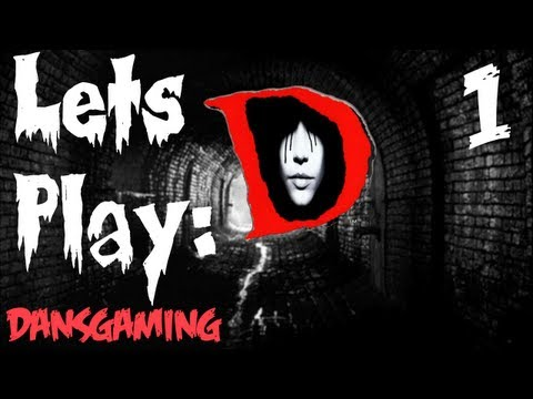 D - PS1 Horror Game - Part 1 - Let's Play with Dan - HD Walkthrough - Gameplay