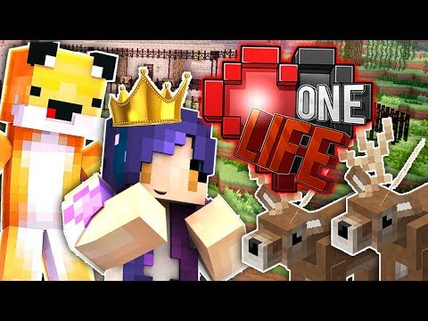 Becoming DEER QUEEN Again *GONE WRONG* | Ep. 8 | One Life Minecraft SMP