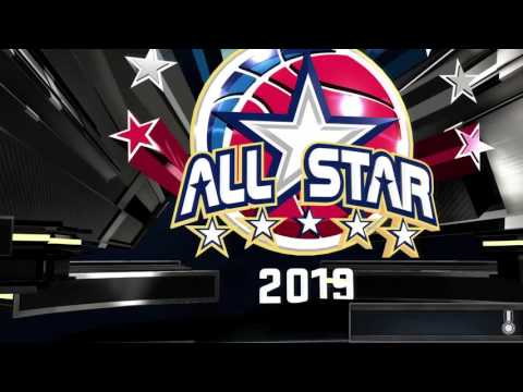 NBA 2k16- My Career- All Star Game 2019