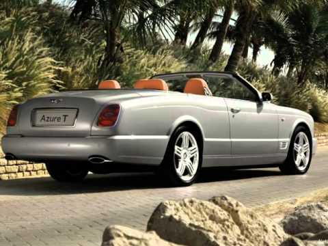2009 Bentley Azure T Youtube