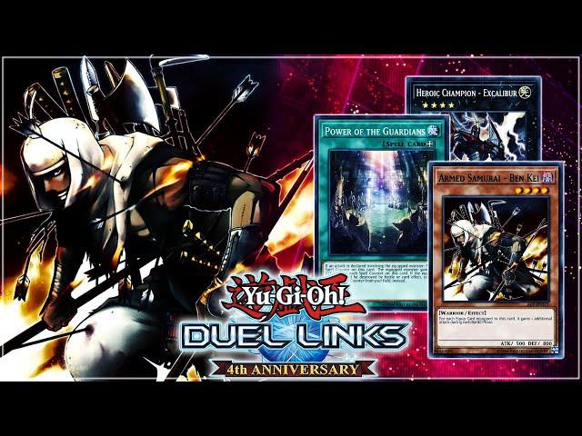 ARMED SAMURAI - BEN KEI OTK! New Free to Play Event Card 👀 | Yu-Gi-Oh! Duel Links
