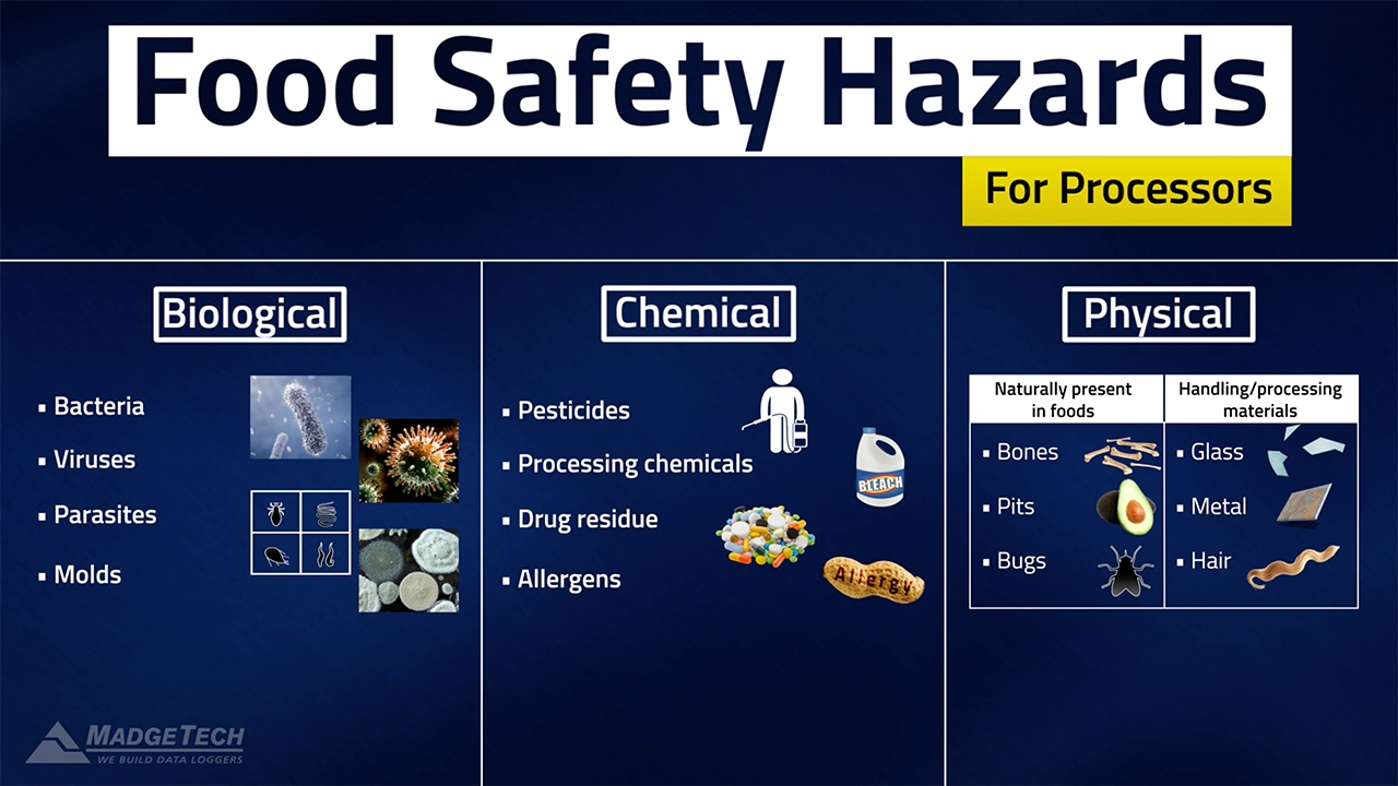 Haccp Food Safety Hazards Youtube