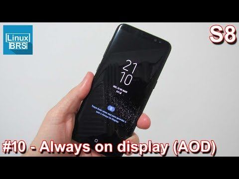 5be63b41148dcc Samsung Galaxy S8 - Always on Display - Configurações - YouTube