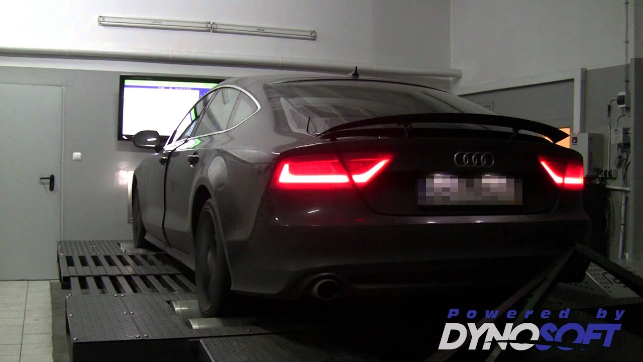 audi a7 3 0tdi v6 cduc 369km tuning i hamownia dyno. Black Bedroom Furniture Sets. Home Design Ideas