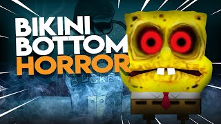 Horror of BIKINI BOTTOM | 3 AM at KRUSTY KRAB