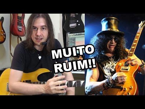 """""""O SLASH é MUITO RUIM, só faz PENTATÔNICA!"""""""