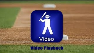 Baseball Swing Analyzer - 1 Minute Tip (Video Playback)