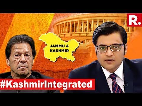 Kashmir Wins, Pak Stooges Lose | The Debate With Arnab Goswami