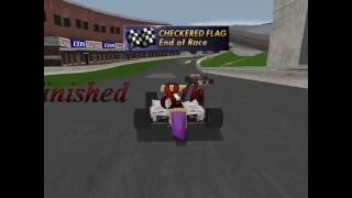 Game 40 - Andretti Racing - Sony PlayStation - Gameplay footage - ePSXe - 1080p