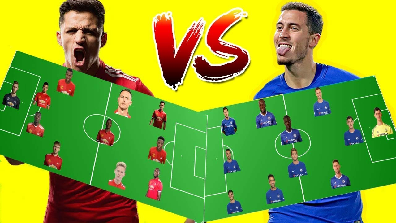 Manchester United Vs Chelsea Predicted Line Up For 25/02