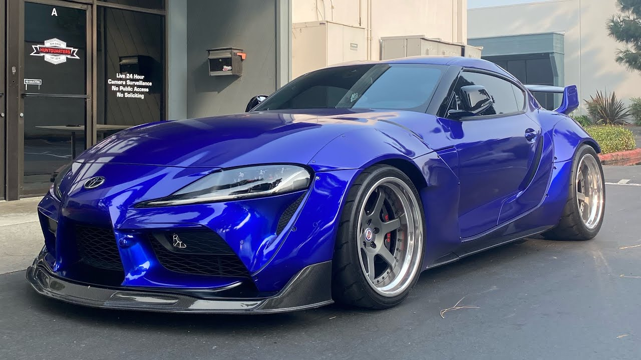 THE NEW COLOR FOR MY WIDEBODY SUPRA!