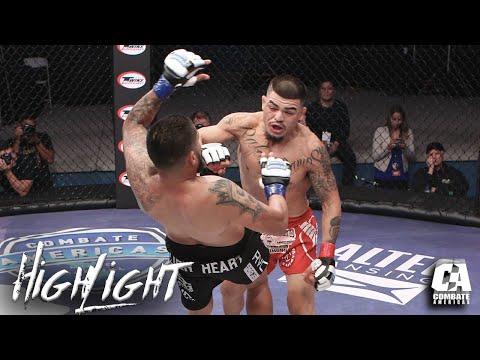 Highlight: Combate Face Off - Jose Estrada vs Izic Fernandez   MMA   Combate Americas