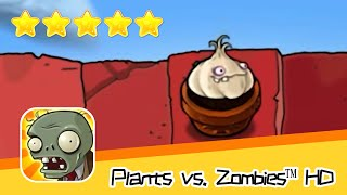 Plants vs  Zombies™ HD ROOF Level 06 Day1 Walkthrough The zombies are coming! Recommend index five s