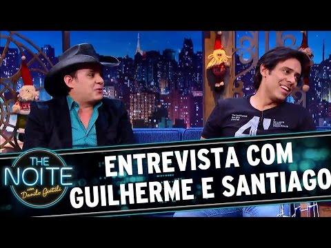 Entrevista com Guilherme e Santiago | The Noite (21/12/16)