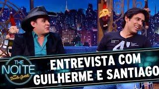 entrevista com guilherme e santiago   the noite 21 12 16