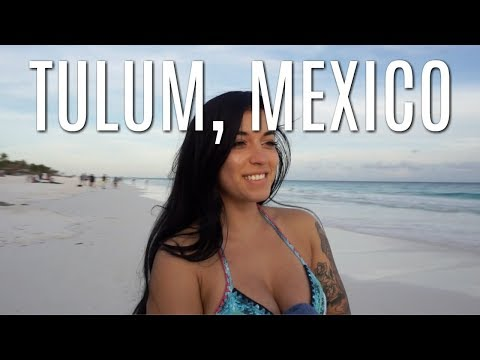 Exploring Tulum, Mexico | Bikini Workout, Vegan food, New friends
