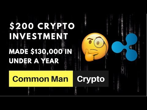 If you wouldve invested in crypto