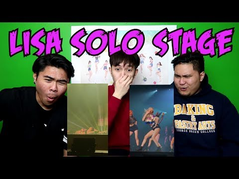 LISA SOLO STAGE REACTION (FUNNY FANBOYS)