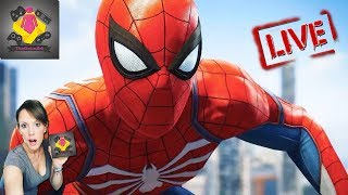 🔥Spider-Man PS4 LIVE STREAM | Spider-Man GAMEPLAY Welcome to NYC 🔥TheGebs24
