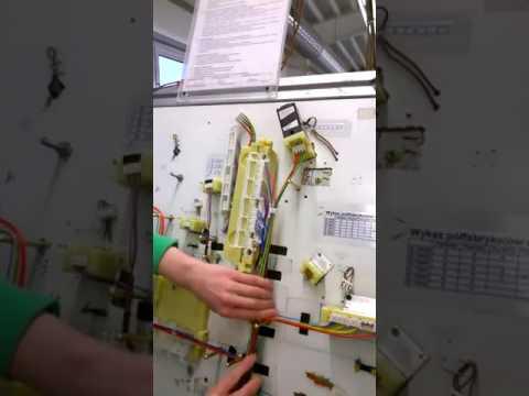 Работа на заводе по производству кабеля для автомобильной промышленности