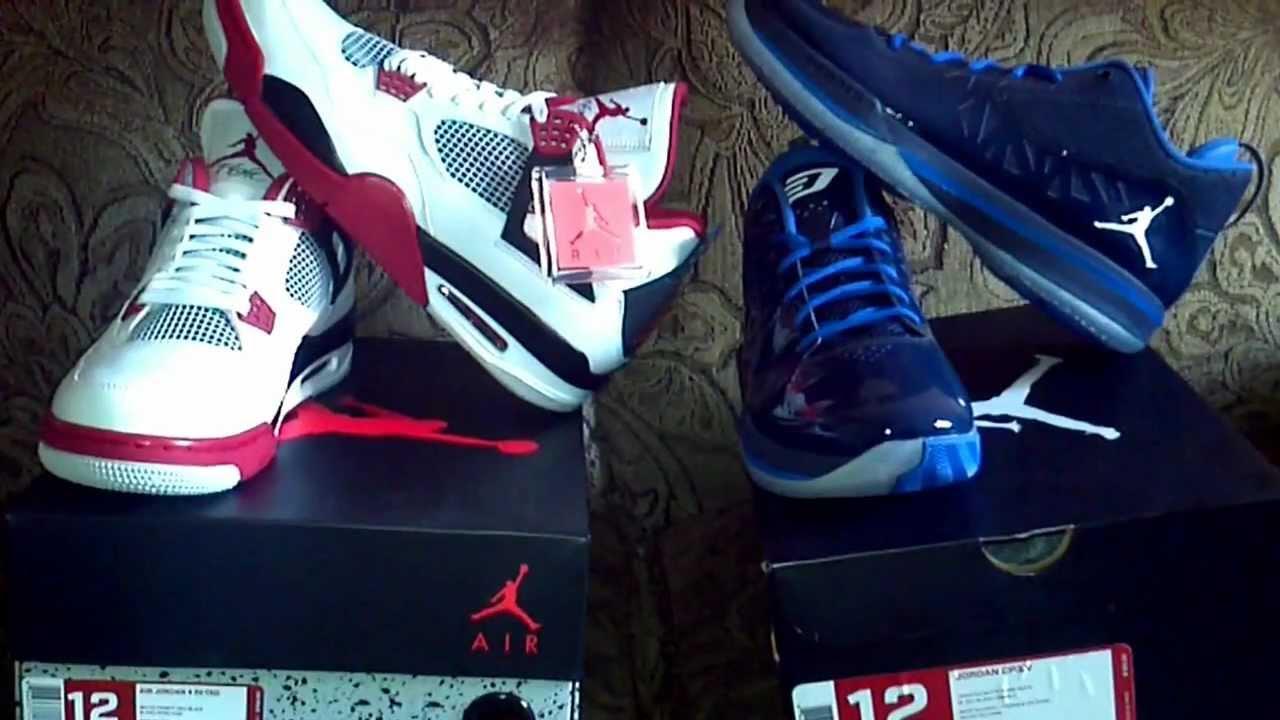 Air Jordan 4 Retro   Jordan CP3.V - YouTube 99c7ae58ecbf