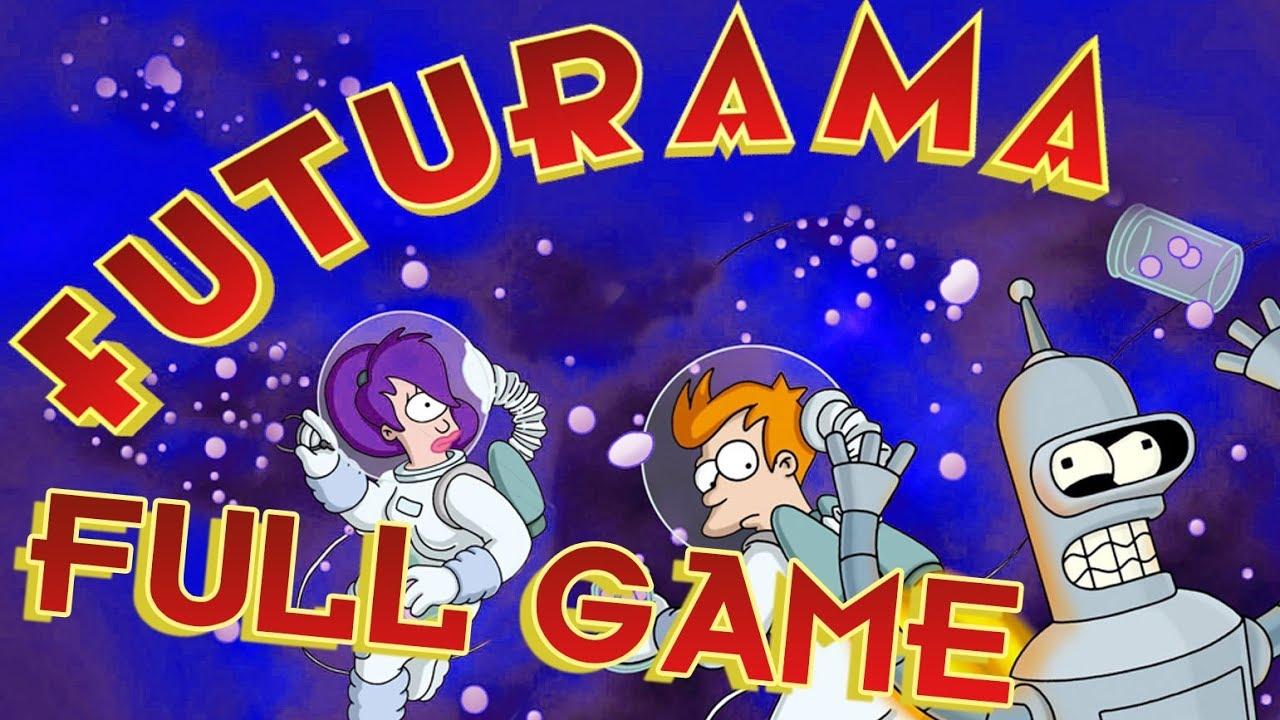 Futurama FULL GAME Walkthrough Longplay (PS2, XBOX)