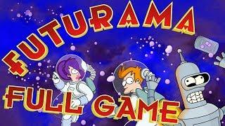 Futurama Walkthrough FULL GAME Longplay (PS2, XBOX) No Commentary