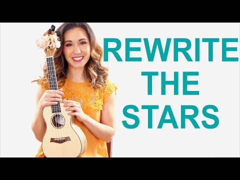 Rewrite the Stars - 'The Greatest Showman' Easy Ukulele Tutorial and Play Along