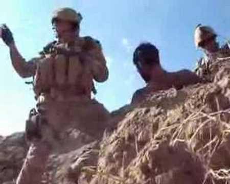 Afghanistan Landmine