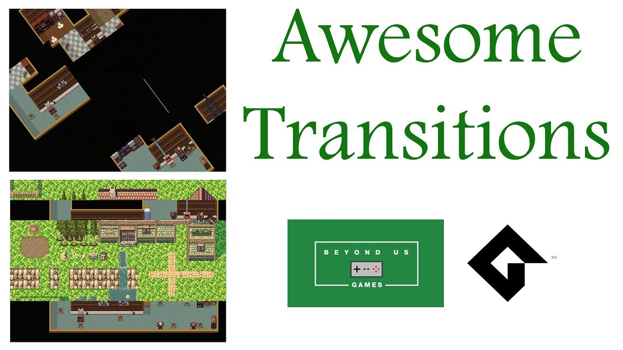 [GameMaker Studio 2] – Advanced Awesome Room Transitions