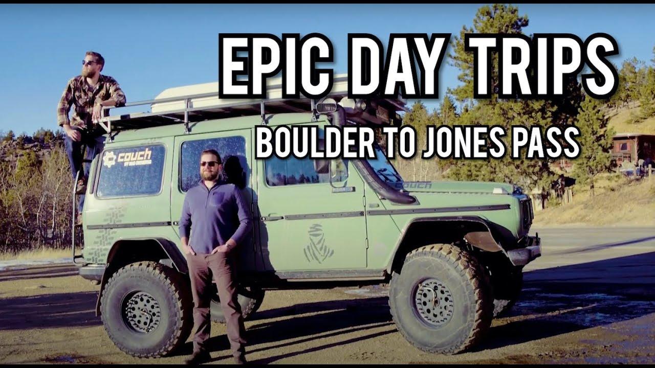 Boulder to Jones Pass, Colorado - A2B: Epic Day Trips