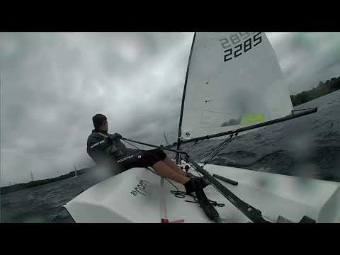 RS Aero - 15 Gusting 28kts - Strong Wind Capsizes