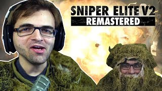 SNIPER ELITE V2 Remastered - Em Busca do Famigerado Headshot Inferior! | PC Gameplay