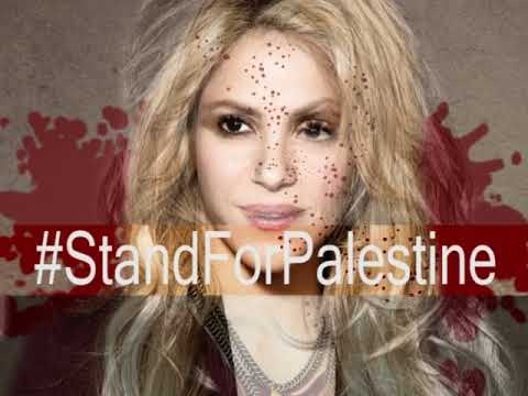 Shakira Please Don T Entertain Apartheid And Occupation The Whole World Is Watching Youtube
