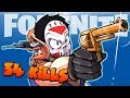 FORTNITE BR - 34 KILL SNIPER SHOOTOUT DUO VS SQUADS! (With Funny Moments!)