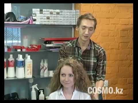 Идея прически для кудрявых волос