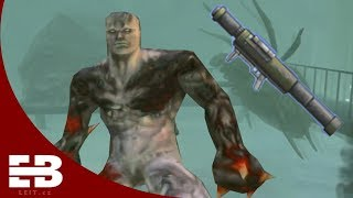 Killing every boss with rocket launcher in Resident Evil: Code Veronica X