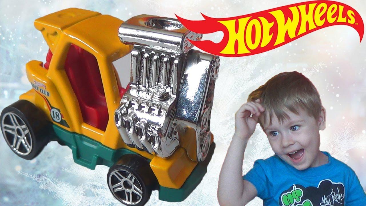 машинки Хот Вилс новая машина видео про машинки для детей