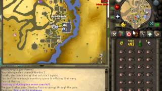 How to get to sophanem for clues / slayer