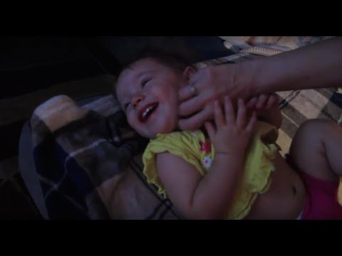 Baby Tickle Torture Baby Steps 8 27 15 Youtube