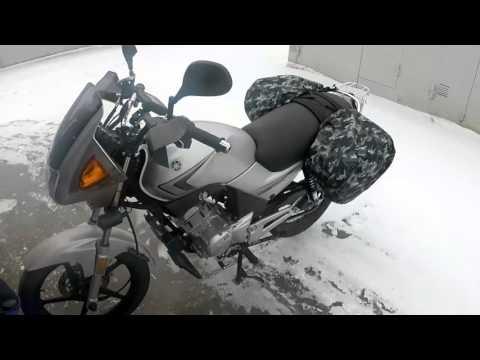 Смена мотоцикла Yamaha YBR 125