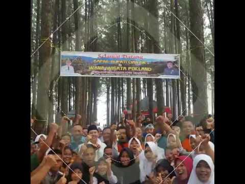 Kunjungan Bupati Cianjur Ke Wana Wisata Pokland