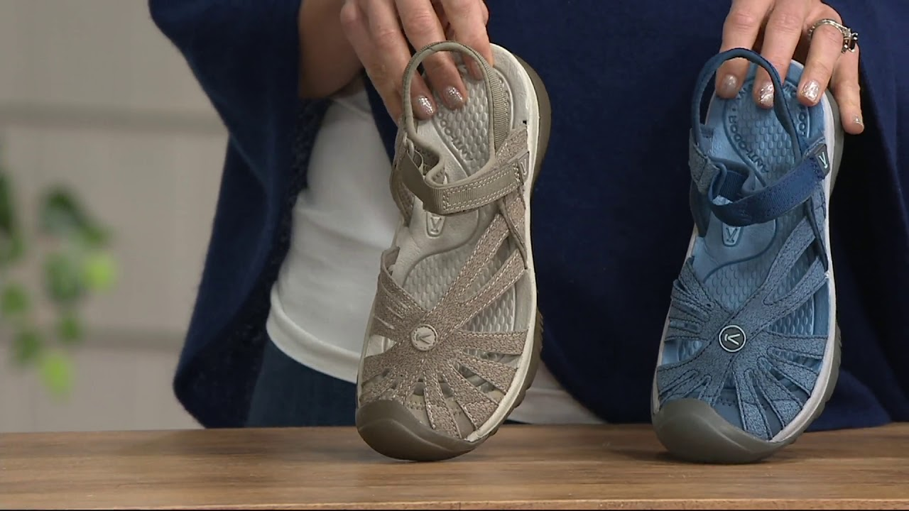 KEEN Multi-Strap Sport Sandals - Rose on QVC - YouTube