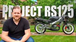 PART 4: My Lockdown Project - Rebuilding A Classic Aprilia RS125 Two Stroke 1999