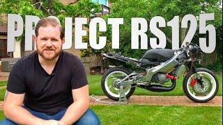 PART 4: My Lockdown Project - Rebuilding A Classic Aprilia RS125 Two Stroke 1999