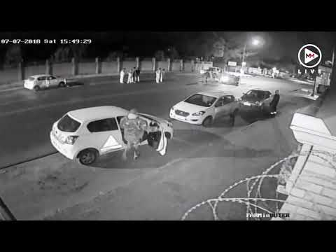 CCTV footage of fatal road rage incident in Middleburg