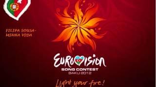 EUROVISION 2012 PORTUGAL- FILIPA SOUSA- VIDA MINHA