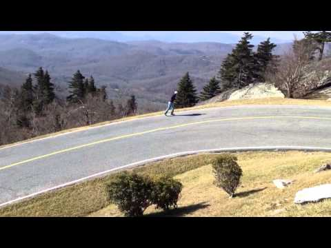 Forrest Gump Curve on Grandfather Mountain
