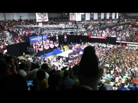 President Obama at NC State...(intro)