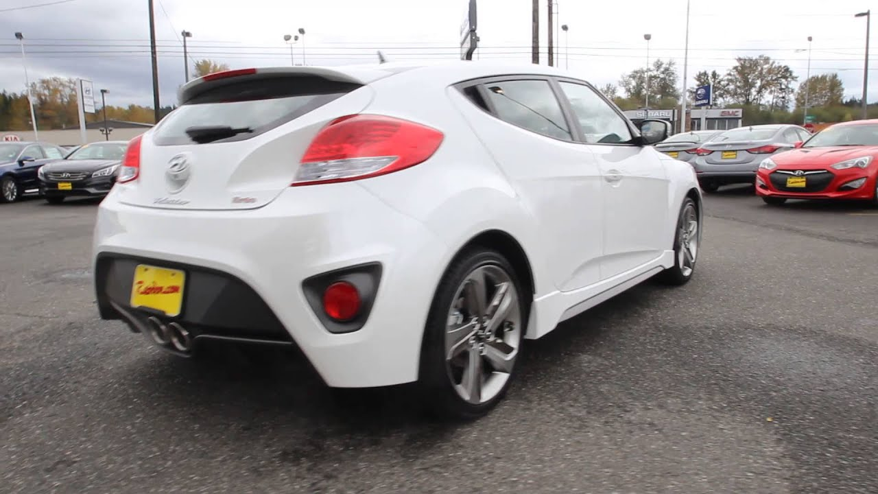 2015 Hyundai Veloster Turbo | White | FU229955 | Skagit County | Mt ...